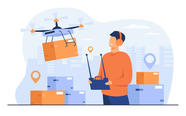 Do drones use WIFI or Bluetooth?